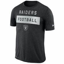 Oakland Raiders Nike Dri-Fit NFL Legend Lift L Athletic Cut T-Shirt  30 aac2b8979