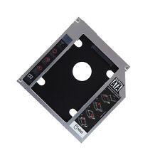 SATA 2nd HDD SSD Hard Drive Caddy for 12.7mm CD/DVD-ROM Optical Bay Laptop PAT U