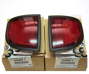 GENUINE RED REAR REFLECTOR UNDER TAILLIGHT FOR MITSUBISHI TRITON L200 MN ML 05+