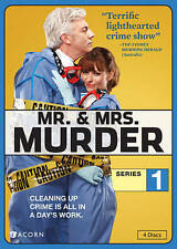 Mr.  Mrs. Murder: Series 1 (DVD, 2014, 4-Disc Set)