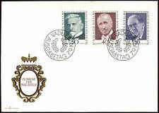 Liechtenstein 1972 PIONIERI DELLA FILATELIA FDC PRIMO GIORNO DI COPERTURA #C22109