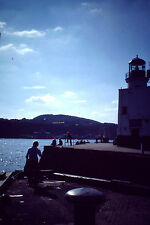 Vintage Kodachrome Slide Negative Scarborough Harbour Lighthouse
