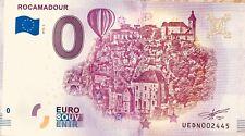 BILLET 0 EURO SOUVENIR TOURISTIQUE ROCAMADOUR   2018-2