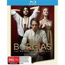 The Borgias: Seasons 1, 2 & 3 blu ray Box Set New Sealed RB