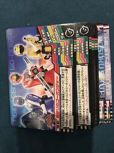 Power Rangers Volume 1 Top Trumps Part Set 32/65 Carddass Bandai 2008 Japanese