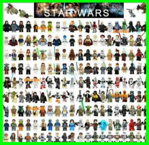 Star Wars Minifigures LEGO Mandalorian anakin ansoka clone darth vader finn han