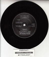 "FAIRGROUND ATTRACTION  Perfect 7"" 45 rpm vinyl record + juke box title strip"