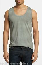 NWT Diesel T-Mas Sleeveless Tee Shirt - 100% Authentic - Grey - Size Large - $58