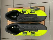 Road Cycling Shoes Dmt R1 Yellow Fluo Black Size 44 shoes