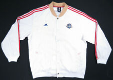 2008 NBA All Star Game New Orleans West Adidas Basketball Full Snap Jacket XL