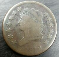 1812 Small Date Good G Classic Head US Large Cent 1C s-291