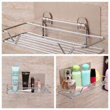 NEW Wall Mounted Bathroom Towel Rail Holder Storage Rack Shelf Bar Towel Holder