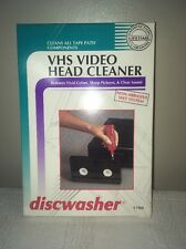 Discwasher (VHS Format) Video Wet Head Cleaner #1788