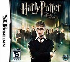 Nintendo DS, Harry Potter and the Order of the Phoenix, Boxed