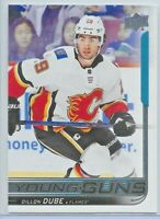 2018-19 Upper Deck Series One #207 Dillon Dube YOUNG GUNS Rookie