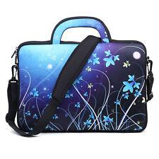 "Neoprene Laptop Computer Briefcase Bag W. Shoulder Strap & Handle 15.6""  1407"