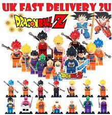 DBZ Son Goku Gohan KURIRIN Vegeta Yamcha 8 Figuras de juguete se ajusta con Lego