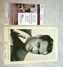 "1930's Charles ""Buddy"" Rodgers Signed Autographed Black & White Photo W/ JSA COA"
