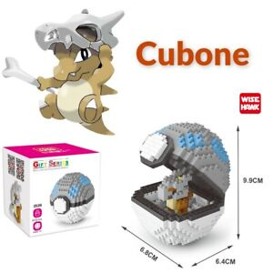 Nintendo Pokemon Cubone Pokeball 413pcs Nano Blocks