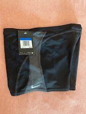 Nike Men's Poly Core Surge Square Leg Swimsuit Black Size M 30 $52