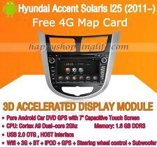 Android Multimedia Player for Hyundai Accent Solaris i25 Grand Avega Verna DVD