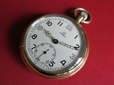 Rare OMEGA military signed pocket watch, REF. 1140, G.S.T.P. F035313