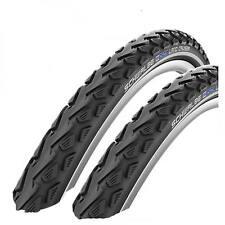 "2x SCHWALBE LAND CRUISER MOUNTAIN BIKE MTB CYCLE BIKE TYRES 26 X 2.0"" BLACK NEW"