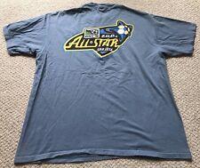 Vintage 2001 MLS All Star Game T-Shirt XL Extra Large San Jose Earthquakes Retro
