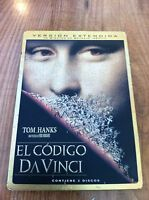 EL CODIGO DA VINCI - 2 DVD (SPANISH EDITION RARE) - ESPAÑOL ENGLISH - STEELBOOK