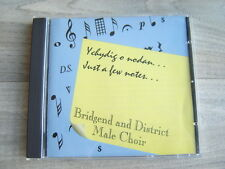 CD welsh PRIVATE choral *EX+* wales BRIDGEND MALE VOICE CHOIR classical folk uk