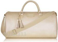 MICHAEL KORS Gorgeous Shimmering Golden Duffel Weekender Bag, NEW!
