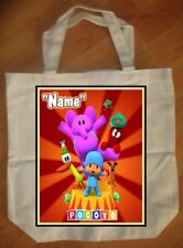 """Pocoyo"" Custom Personalized Birthday Tote Bag Party Favor - NEW"