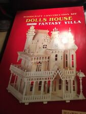 Wood Craft Construction Kit for a Doll House