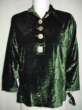 Samt MOTHWURF Designer Hemd Trachtenbluse Landhaus Tunikahemd Tunika Blusenhemd