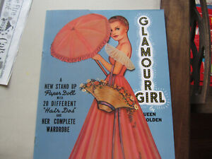 Queen Holden 1985. glamour Girl  Paper Dolls.Merrimack. UNCUT. MINT
