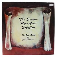 SEVEN-PER-CENT SOLUTION John Addison Film Score LP 70s Soundtrack Promo Only !