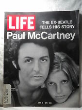Life magazine April 16 1971 PAUL McCARTNEY BEATLES Manson jury