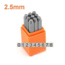 Metal Stamp Set Sans Serif Numbers 2.5mm (SCE11-2.5mm)