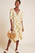 NWT Anthropologie Faithfull the Brand Floral Rafa Midi Dress 6