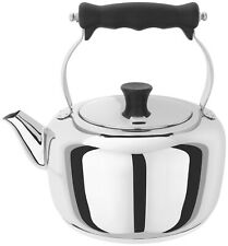 Stellar Stove Top Stainless Steel Traditional Kettle 2.0L - Brand New & Boxed