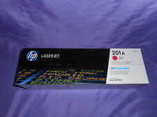 NEW SEALED PACK HP LASERJET 201A MAGENTA PRINT CARTRIDGE CF403A