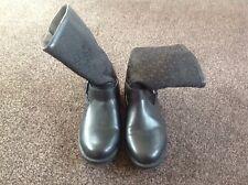 BLack DKNY short boots size 4 new