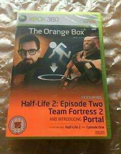 BRAND NEW SEALED THE ORANGE BOX HALF LIFE 2 : EPISODE TWO FOR XBOX 360 MICROSOFT