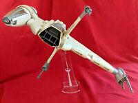 Star Wars Vintage B-Wing Rebel Fighter WORKS & COMPLETE Kenner 1984 vtg BWing