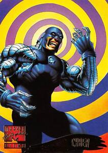CYBER / 1995 Marvel Masterpieces (Fleer) Base Trading Card #119