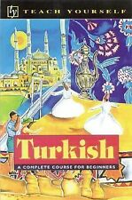 Teach Yourself Turkish Complete Course For Beginners 2002 Printing NEW