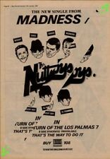 Madness The Return Of The Los Palmas 7 Advert NME Cutting 1981 #1 ABC