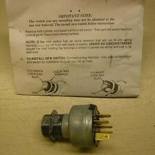 1962-1964 Chevy Nova or Chevy II Ignition Switch