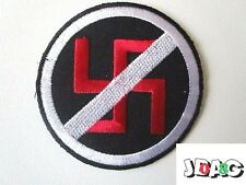 PATCH ECUSSON ANTI-NAZI ANTI-FASCISME  - 7.5 CM