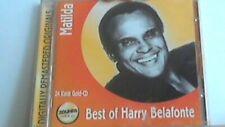 24 Karat Gold CD  Harry Belafonte - Mathilda ... Best Of... (Zounds Gold)